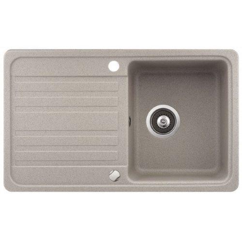 Кухонная мойка AquaSanita Volta SQ101AW 110 beige