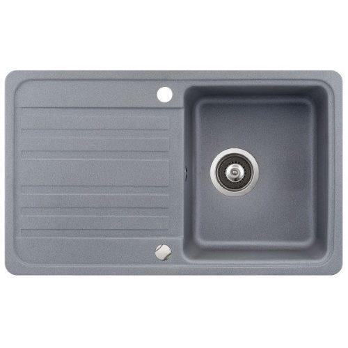 Кухонная мойка AquaSanita Volta SQ101AW 202 alumetallic