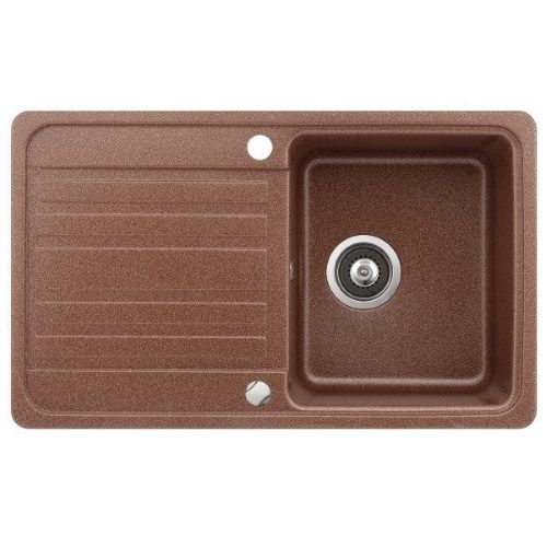 Кухонная мойка AquaSanita Volta SQ101AW 501 copper