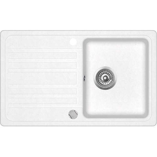 Кухонная мойка AquaSanita Volta SQ101AW 710 alba