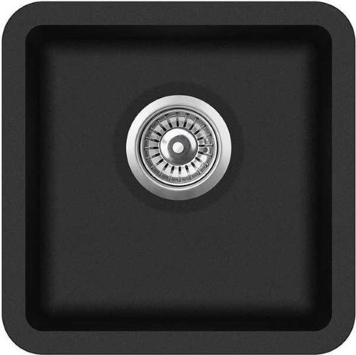 Кухонная мойка AquaSanita Arca SQA100W 601 black metallic