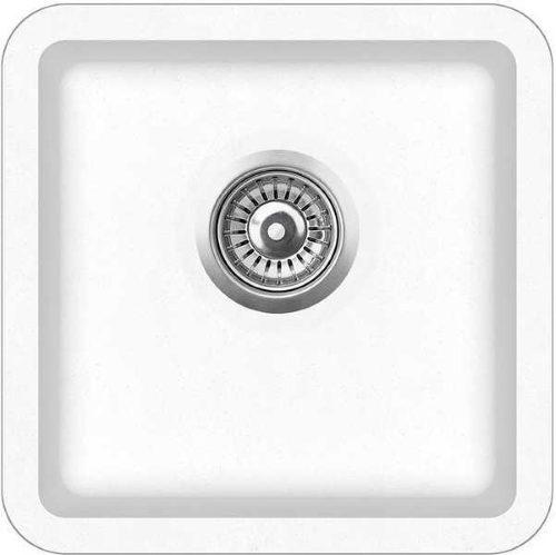 Кухонная мойка AquaSanita Arca SQA100W 710 alba