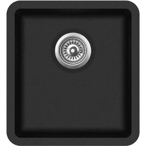 Кухонная мойка AquaSanita Arca SQA101W 601 black metallic