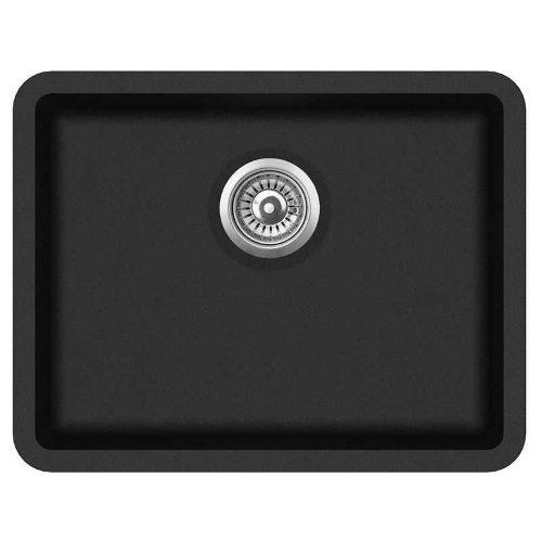Кухонная мойка AquaSanita Arca SQA102W 601 black metallic