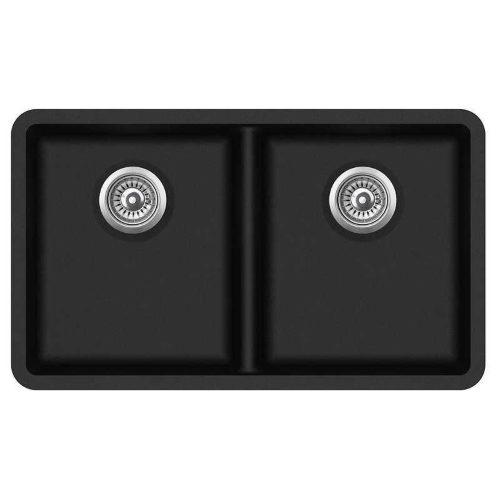 Кухонная мойка AquaSanita Arca SQA200W 601 black metallic