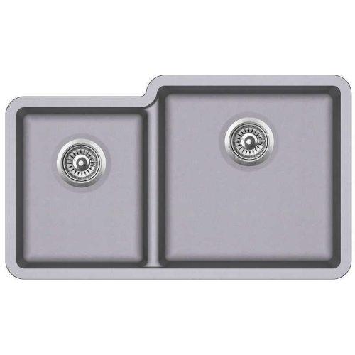 Кухонная мойка AquaSanita Arca SQA 230R 202 alumetallic