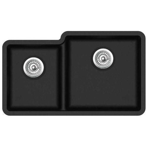 Кухонная мойка AquaSanita Arca SQA 230R 606 blackmetallic