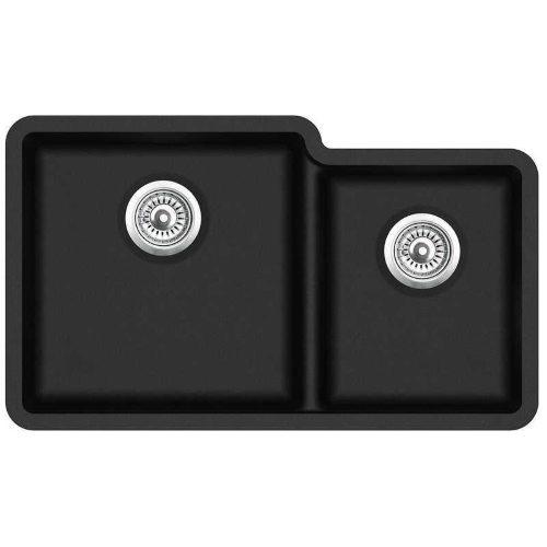 Кухонная мойка AquaSanita Arca SQA 230L 601 blackmetallic