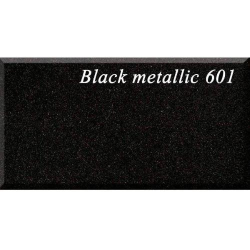 Кухонная мойка AquaSanita TESA SQT102 601 black metallic
