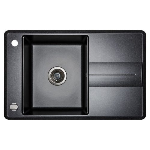 Кухонная мойка AQUASanita Bella SQB101AW 601 black metallic