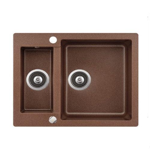 Кухонная мойка AQUASanita Cuba SQC150AW 501 copper