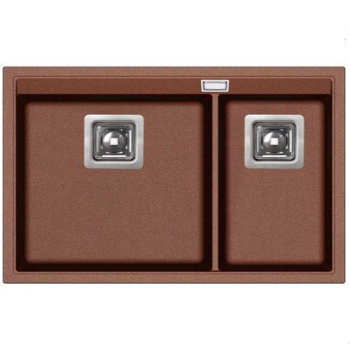 Кухонная мойка AquaSanita Premium Delicia SQD150AW 501 copper