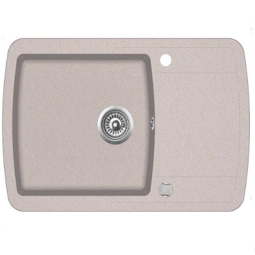 Кухонная мойка AquaSanita Premium Lira SQL101AW 110 beige
