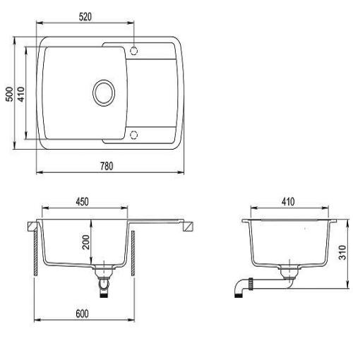 Кухонная мойка AquaSanita Premium Lira SQL101AW 111 silica