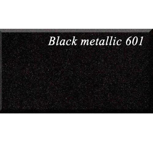 Кухонная мойка AquaSanita Lira SQL101AW 601 black metallic