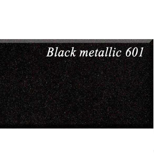 Кухонная мойка AquaSanita Lira SQL201AW 601 black metallic