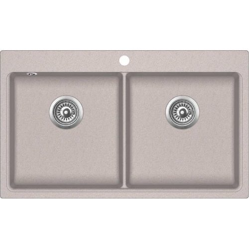 Кухонная мойка Aqua Sanita MAGNA SQM200AW 110 beige