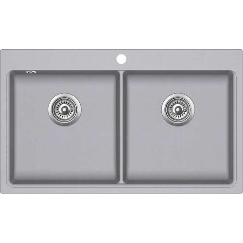 Кухонная мойка Aqua Sanita MAGNA SQM200AW 202 alumetallic