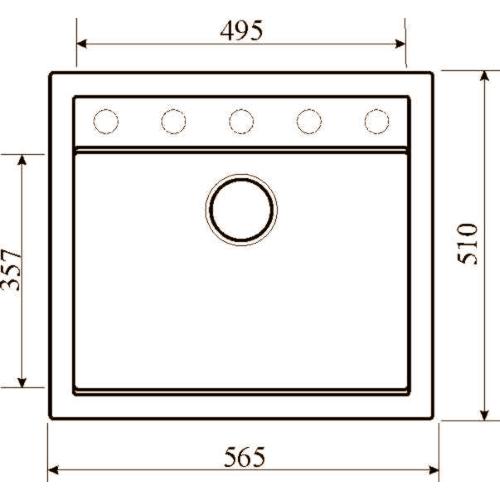 Кухонная мойка AQUASanita Quadro SQQ100W 501 copper