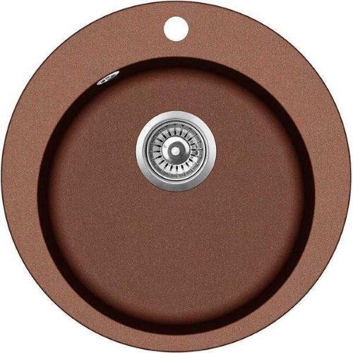 Кухонная мойка AQUASanita Raund SR-100 SR100W 501 copper