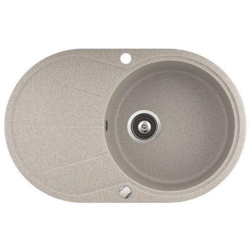 Кухонная мойка AQUASanita CLARUS SR101AW 110 beige
