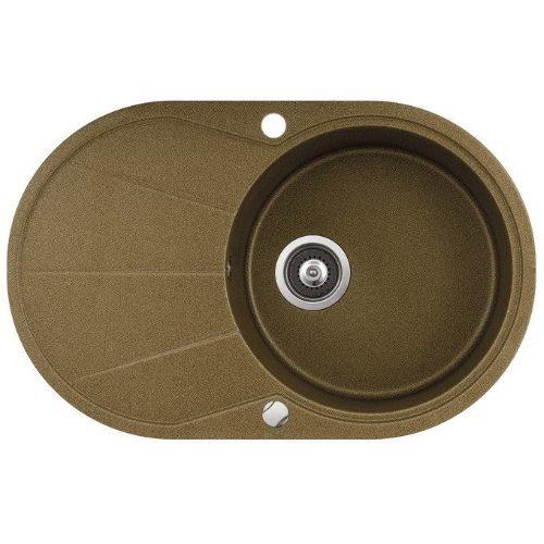 Кухонная мойка AQUASanita CLARUS SR101AW 301 brass