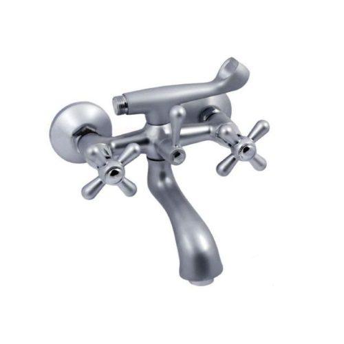 Смеситель для ванны HAIBA DOMINOX 142 SATIN HB0066