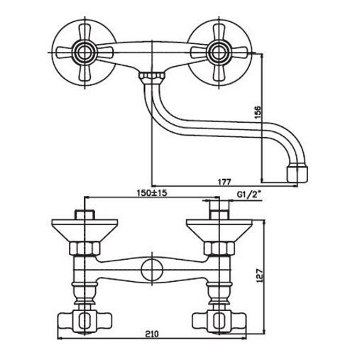 Смеситель для кухни HAIBA ODYSSEY 361 HB0317