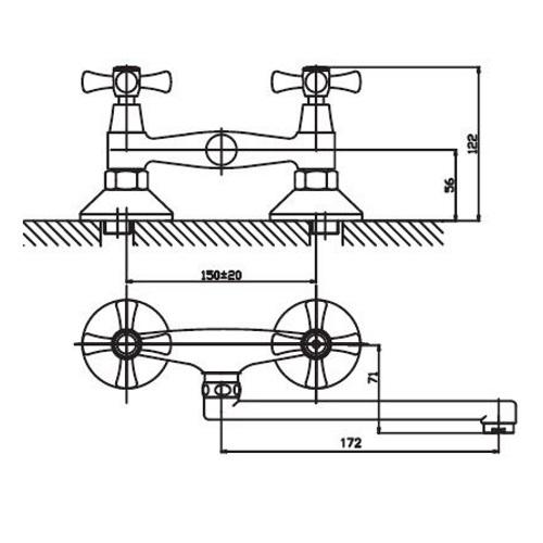 Смеситель для кухни HAIBA SMES 361 HB0380