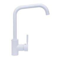 Смеситель для кухни HAIBA HANS 011-G WHITE HB0818