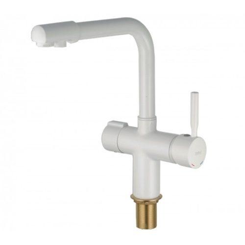 Смеситель с краном для питьевой воды HAIBA HANS 021 WHITE HB0842