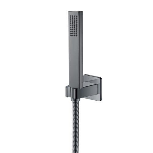 Набор душевой — ручной душ с шлангом и держателем ZMK041807100 GRAFIKY чёрный никель Imprese