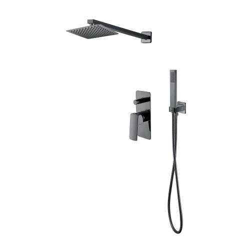 Комплект скрытого монтажа для душа — смеситель, верхний и ручной душ ZMK041807110 GRAFIKY Imprese
