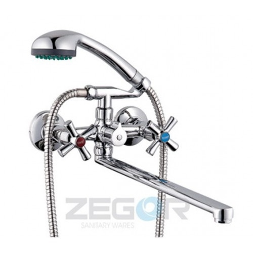 Смеситель для ванны ZEGOR (TROYA) DMT7-B722