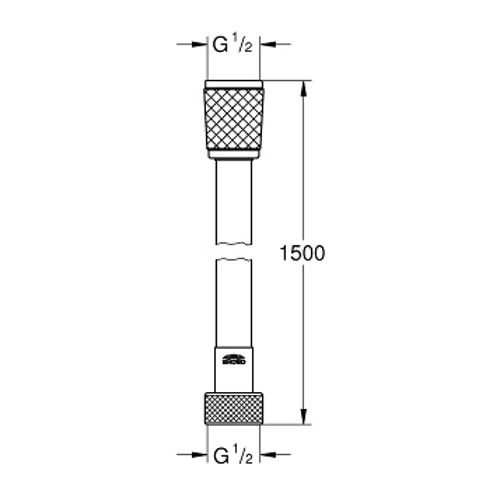 Шланг для лейки Grohe Relexa Flex 28151001