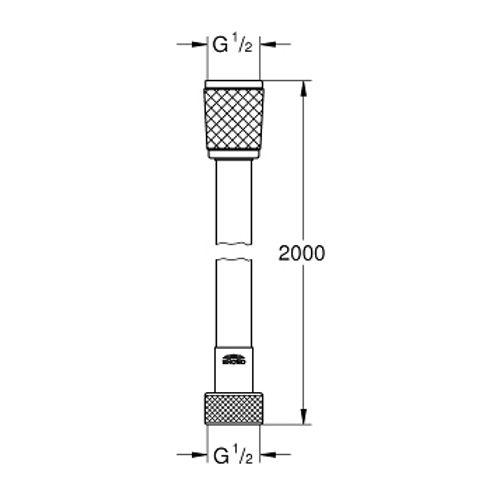 Шланг для лейки Grohe Relexa Flex 28155001