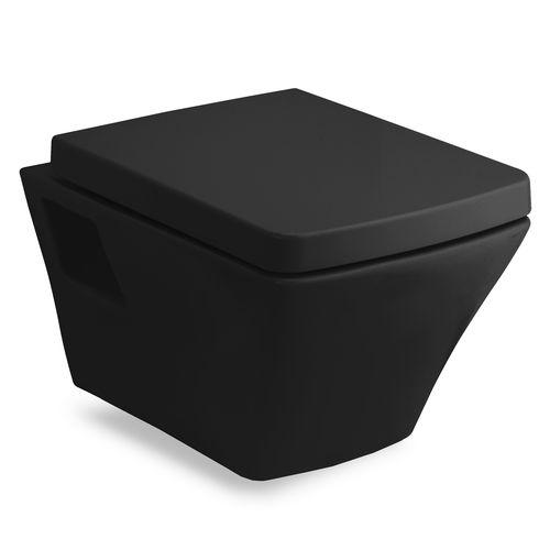 Чаша унитаза с сиденьем soft-close Volle Teo 13-88-422black