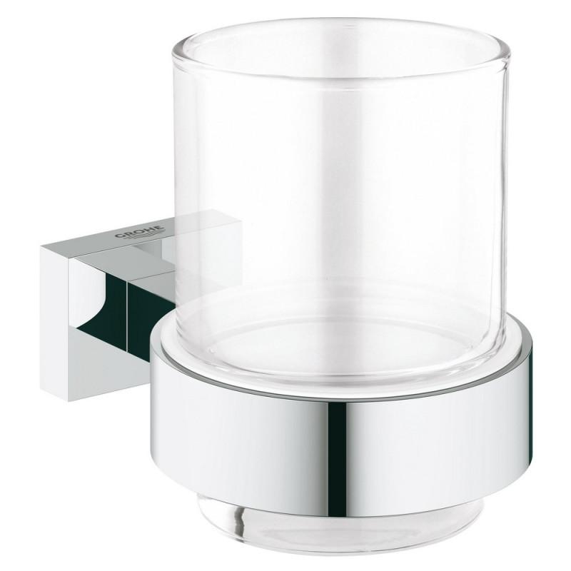 Стакан для зубных щёток Grohe EX Essentials Cube 40755001 25051GROHE