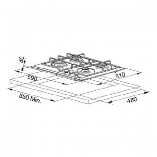 Варочная поверхность Franke FHM 604 (106.0037.680)