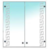 Зеркальный шкаф МИКОЛА-М Eco green Greece 55 см 4607062692219