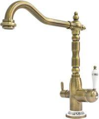Смеситель кухонный Fabiano FKM 31.4 Brass-Antique бронза