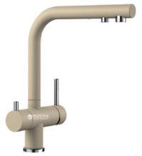 Смеситель кухонный с подключением к фильтру BLANCO FONTAS II silgr.шампань