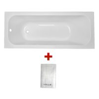 Ванна Volle ALTEA 1700*700*448мм без ножек + Полотенце махровое