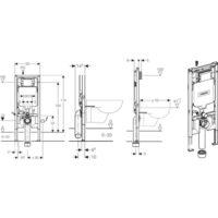 Система инсталляции для унитазов Geberit Sigma 8 111.796.00.1