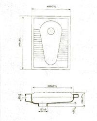 Чаша «Генуя», №2, 50х40см,(Днепрокерамика) Б/р, в коробке