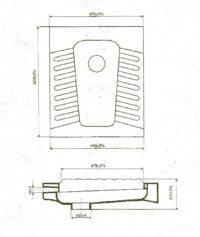 Чаша «Генуя» 60х48 (Днепрокерамика) Б/р, в коробке