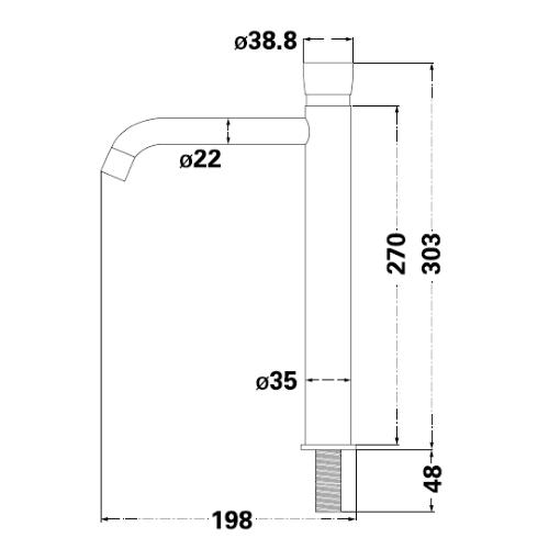 Монокран Lambert COLD PUSH LR1050-1