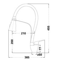 Смеситель для кухни Lambert Pull-Out LR3044