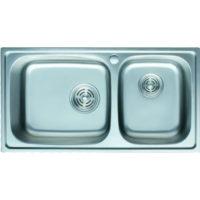 Кухонная мойка Cristal FRANT PLUS UA5109ZS Satin