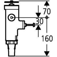 Смывной механизм под давлением Grohe 43996000